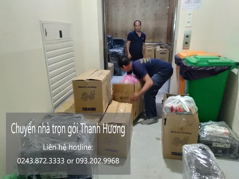 Chuyển nhà giá rẻ Thanh Hương phố Hoàn Kiếm