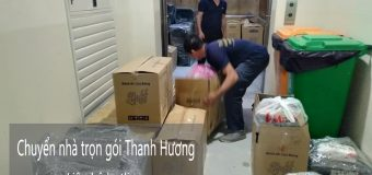 Chuyển nhà Thanh Hương uy tín tại phố Hoàng Tăng Bí