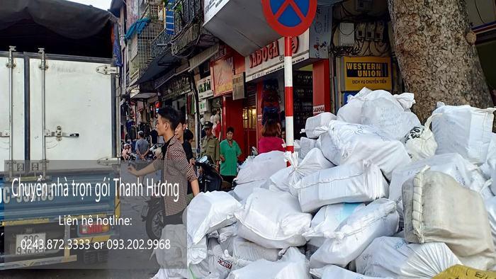 Dịch vụ chuyển nhà trọn gói 365 tại phố Hàng Cháo