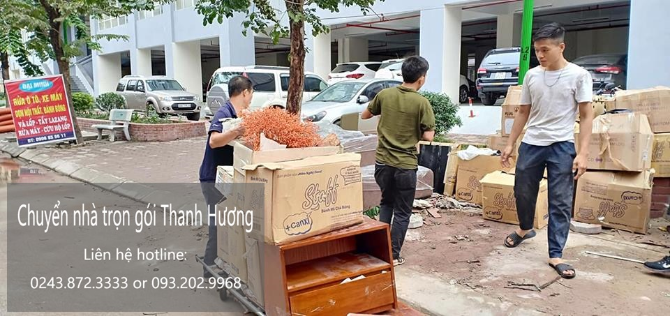 dịch vụ chuyển nhà Thanh Hương tại Hà Nội