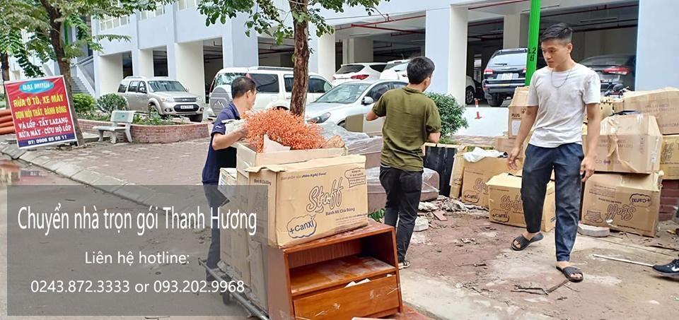 Dịch vụ chuyển nhà trọn gói 365 tại phố Đoàn Thị Điểm