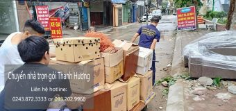Chuyển nhà trọn gói tại phố Phan Đăng Lưu