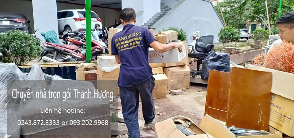 Chuyển nhà trọn gói tại phố Đoàn Nhữ Hài