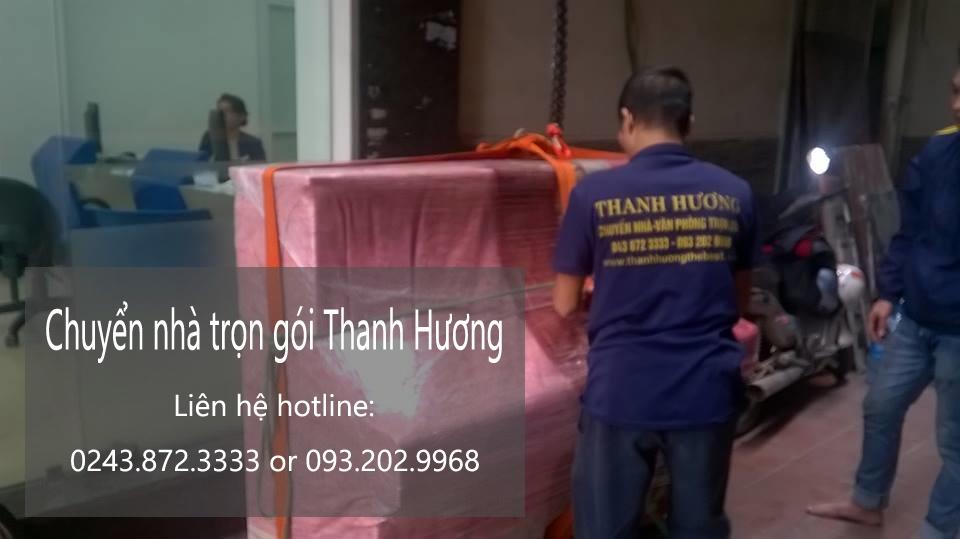 Dịch vụ chuyển nhà trọn gói 365 tại phố Vĩnh Hồ