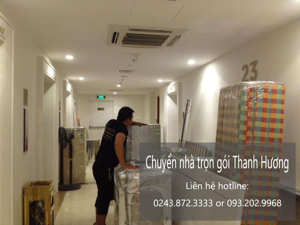 Dịch vụ chuyển nhà trọn gói 365 tại phố Yên Ninh