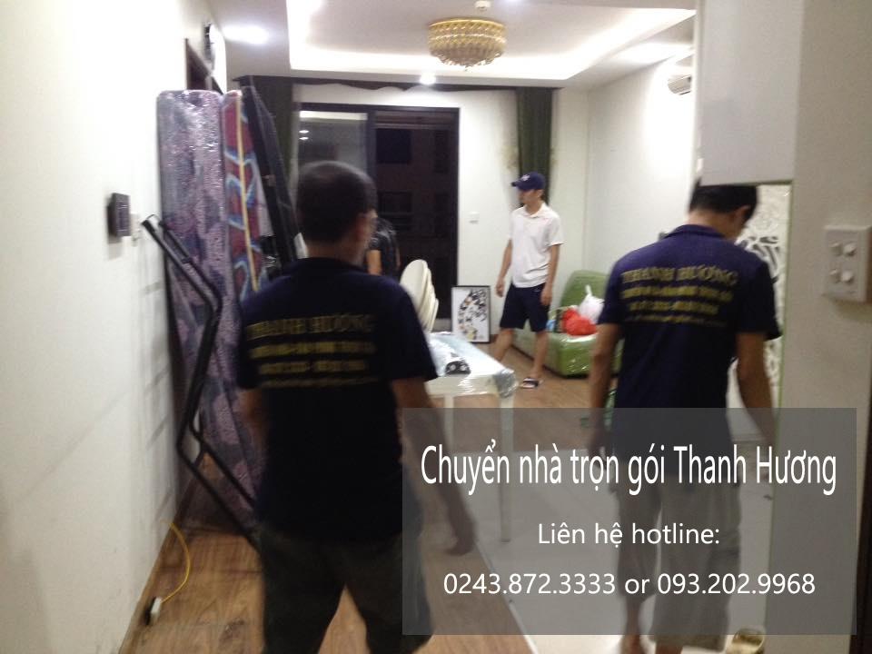 Dịch vụ chuyển nhà trọn gói 365 Thanh Hương tại phố Đồng Bông