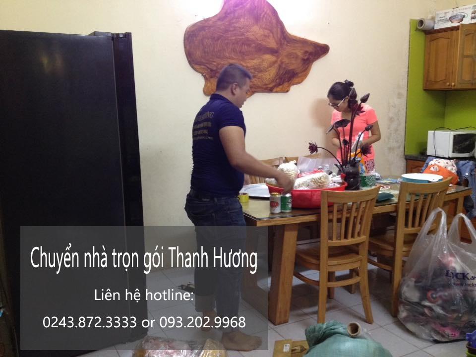 Chuyển nhà trọn gói giá rẻ tại phố Đặng Dung