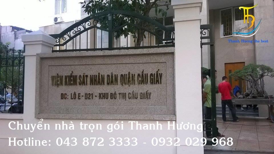 Chuyển nhà giá rẻ tại phố Nguyễn Ngọc Nại