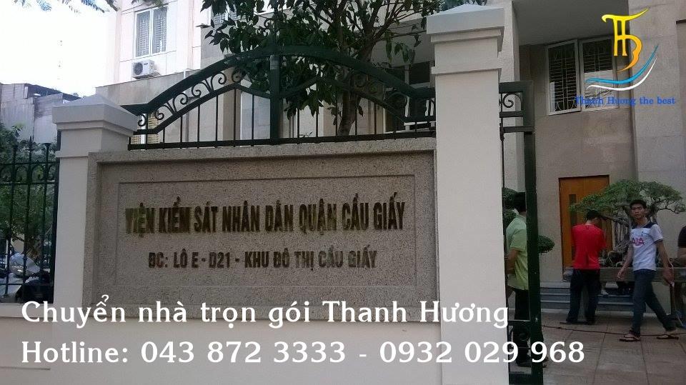Chuyển Văn Phòng uy tín tại phố Nguyễn Ngọc Nại