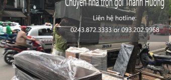 Chuyển nhà trọn gói 365 tại phố Nguyễn Hữu Huân.