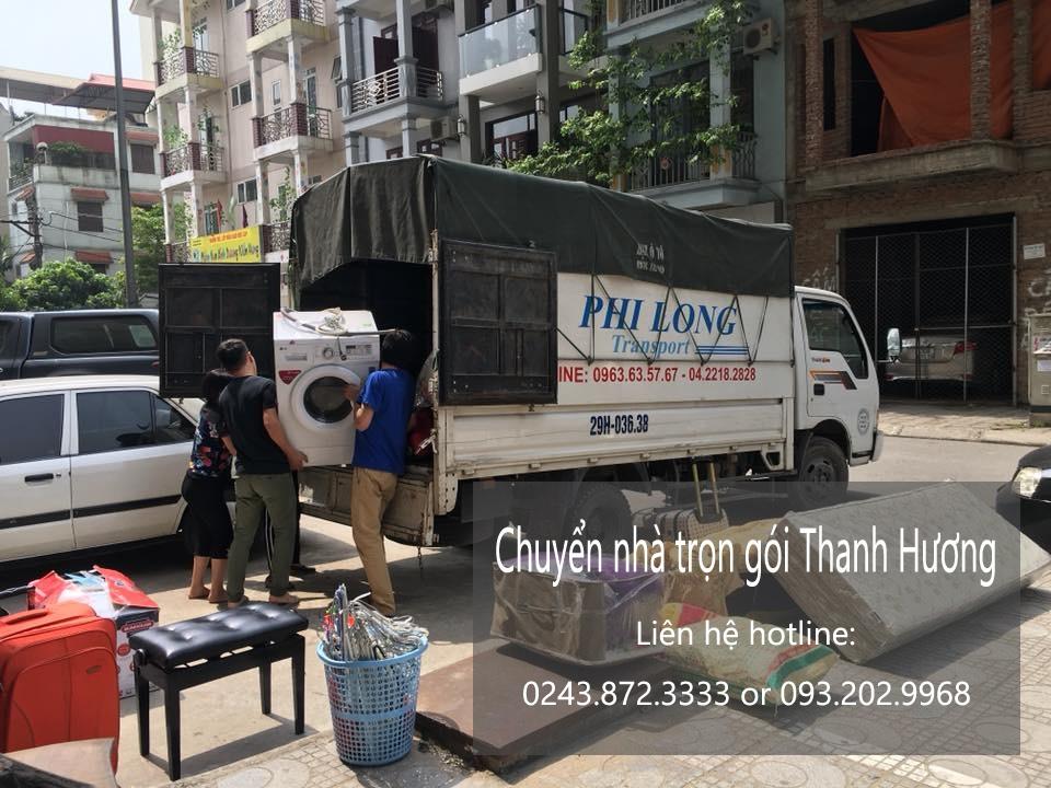 Dịch vụ chuyển nhà trọn gói 365 tại phố Lạc Chính