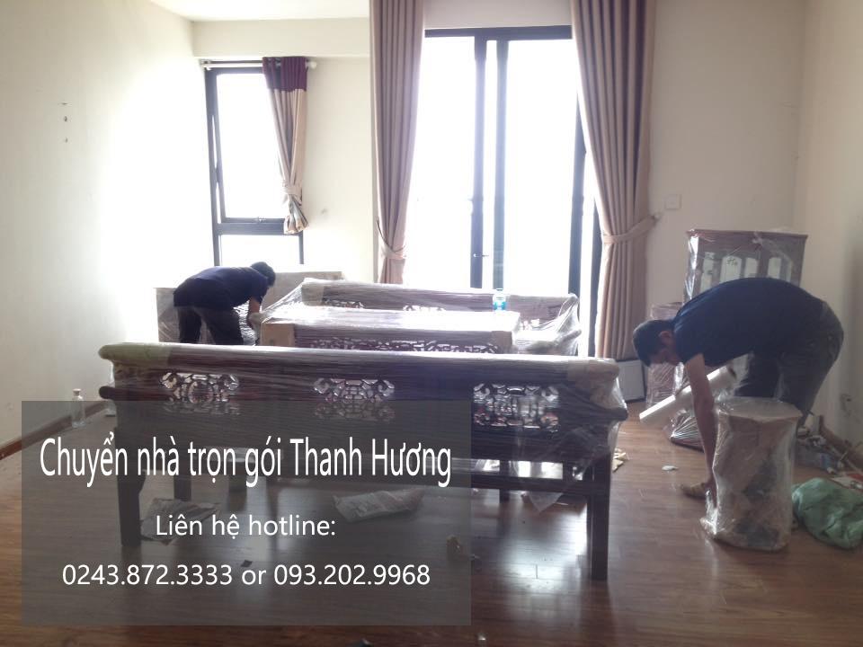 Dịch vụ chuyển nhà trọn gói 365 Thanh Hương tại phố Giáp Nhất