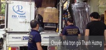 Dịch vụ chuyển nhà trọn gói 365 tại phố Chùa Láng