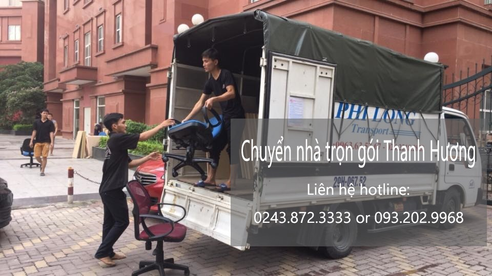 Dịch vụ chuyển nhà trọn gói 365 tại phố Nguyễn Du