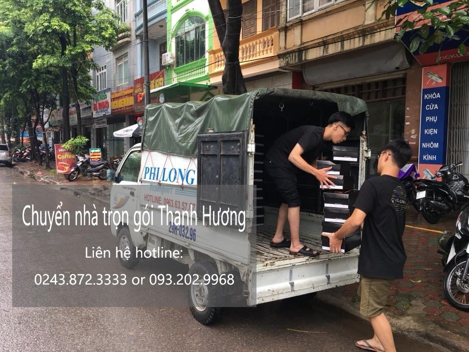 Dịch vụ chuyển nhà trọn gói 365 tại phố Đại Từ
