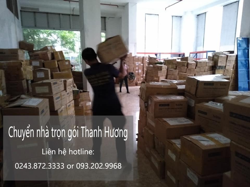 Dịch vụ chuyển nhà trọn gói tại đường Thượng Thụy