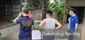 Dịch vụ chuyển nhà trọn gói 365 tại phố Hạ Yên 2019