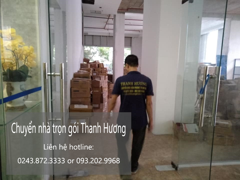 Dịch vụ chuyển nhà trọn gói 365 tại phố Dương Lâm