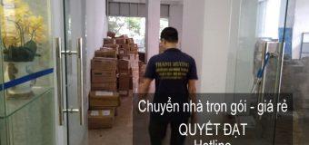 Dịch vụ chuyển nhà trọn gói 365 tại phố Đại La