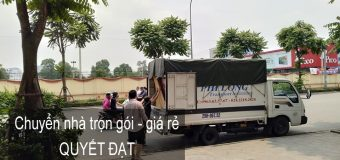 Chuyển văn phòng Thanh Hương phố Hoàng Diệu