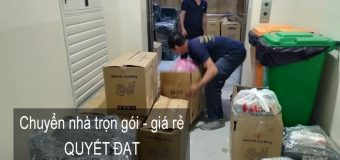 Dịch vụ chuyển nhà trọn gói 365 tại phường Trung Phụng