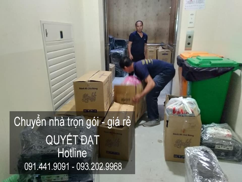 Chuyển nhà giá rẻ 365 chất lượng phố Dương Đình Nghệ