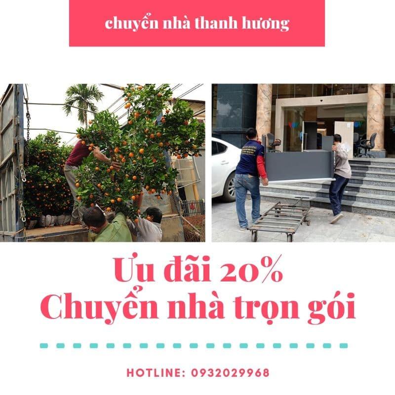 Dịch vụ chuyển nhà tại xã Xuân Canh