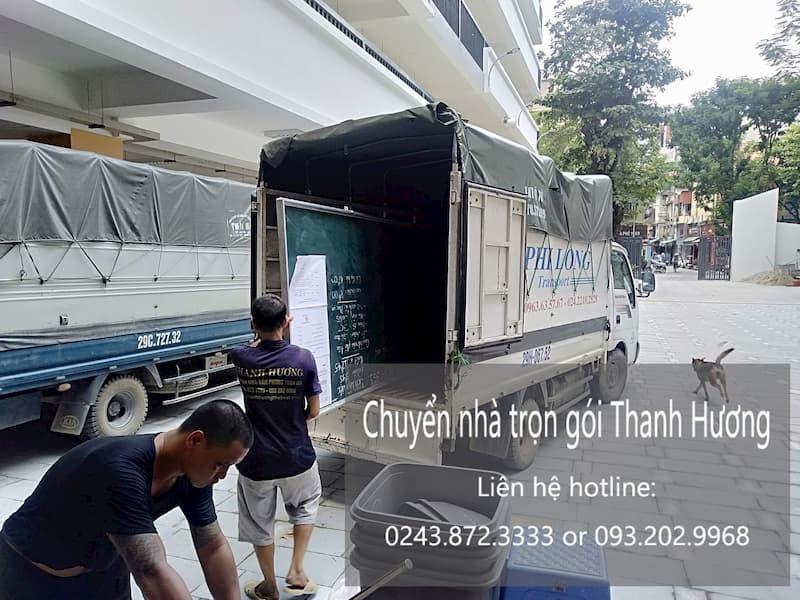 Dịch vụ chuyển nhà Thanh Hương tại xã Thụy Phú