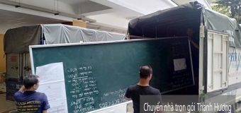 Dịch vụ chuyển nhà trọn gói 365 tại xã Hồng Thái