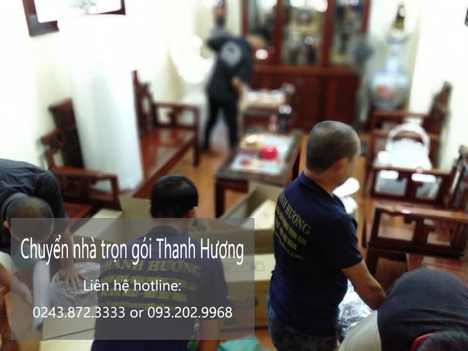 Dịch vụ chuyển nhà Thanh Hương tại phường Đội Cấn