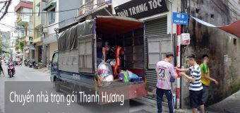 Dịch vụ chuyển nhà trọn gói 365 tại phố Trịnh Đình Cửu