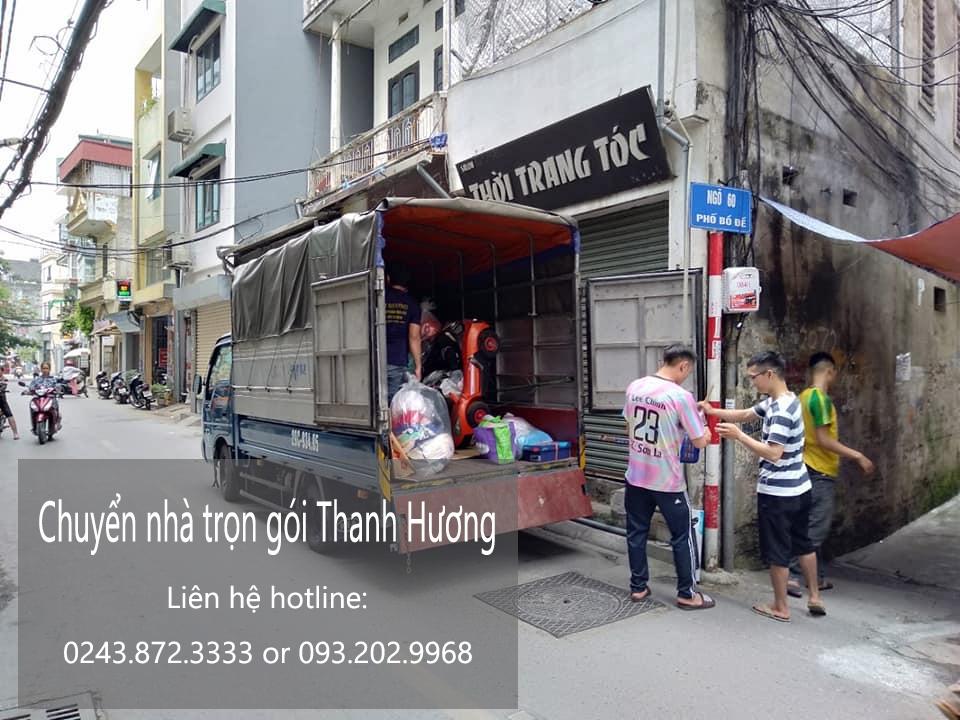 Dịch vụ chuyển nhà tại phố Trịnh Đình Cửu