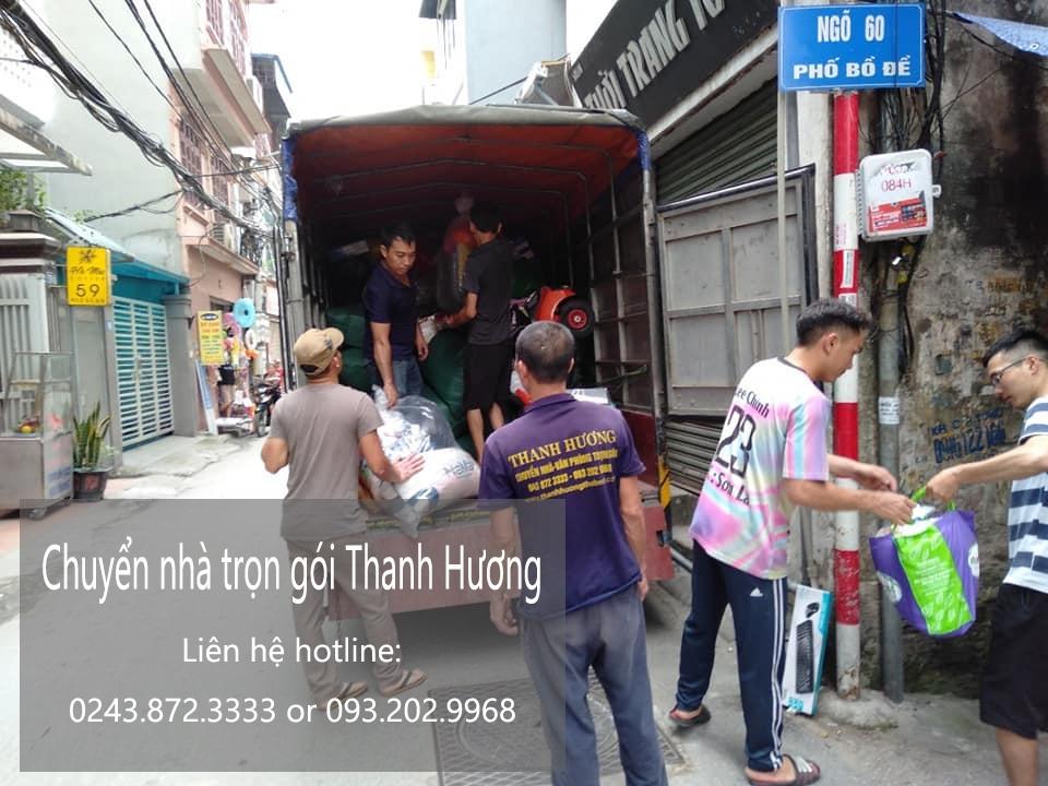 Dịch vụ chuyển nhà tại phố Nguyễn Ngọc Doãn