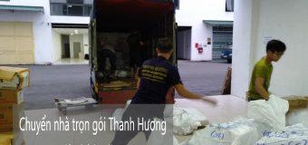 Dịch vụ chuyển nhà trọn gói 365 tại phố Hoa Lâm