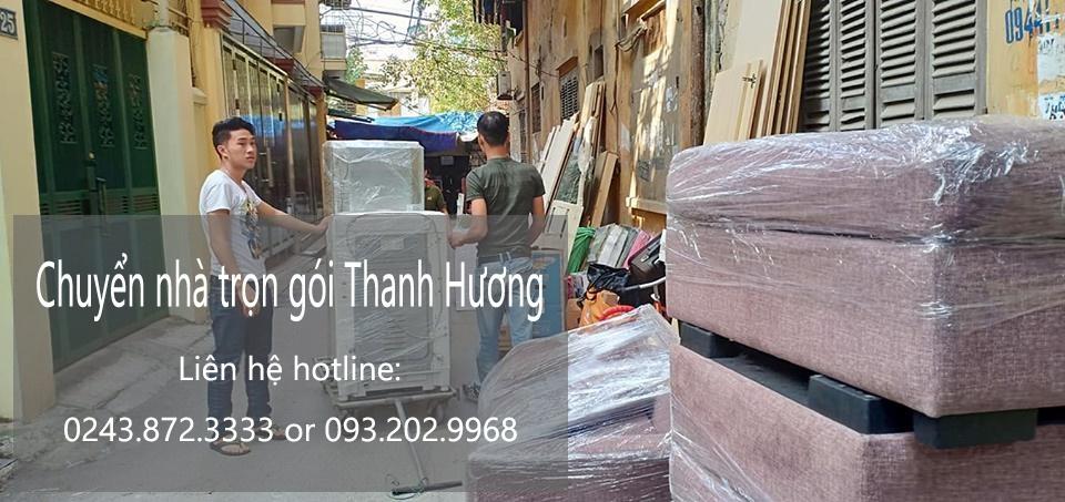 Dịch vụ chuyển nhà trọn gói 365 tại đường Vũ Quỳnh