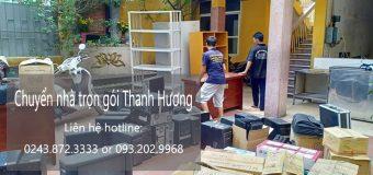 Dịch vụ chuyển nhà trọn gói 365 tại phố Đinh Công Tráng