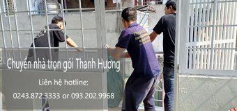 Dịch vụ chuyển nhà trọn gói 365 tại phố Hồ Đắc Di