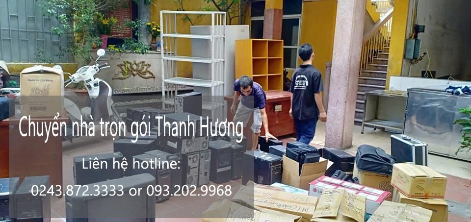 Dịch vụ chuyển nhà trọn gói 365 tại phố Đỗ Quang