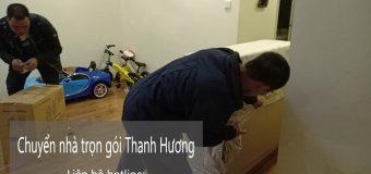 Dịch vụ chuyển nhà trọn gói 365 tại phố Từ Hoa