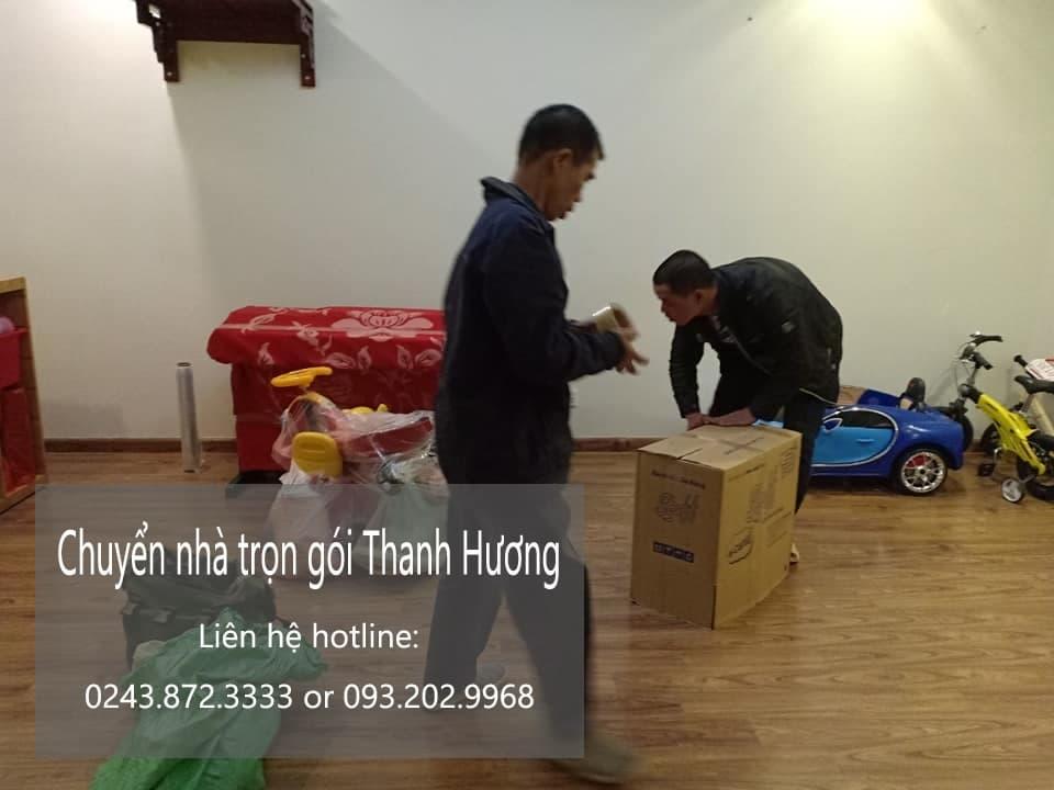 Quyết Đạt chuyển nhà trọn gói tại phố Gia Thụy