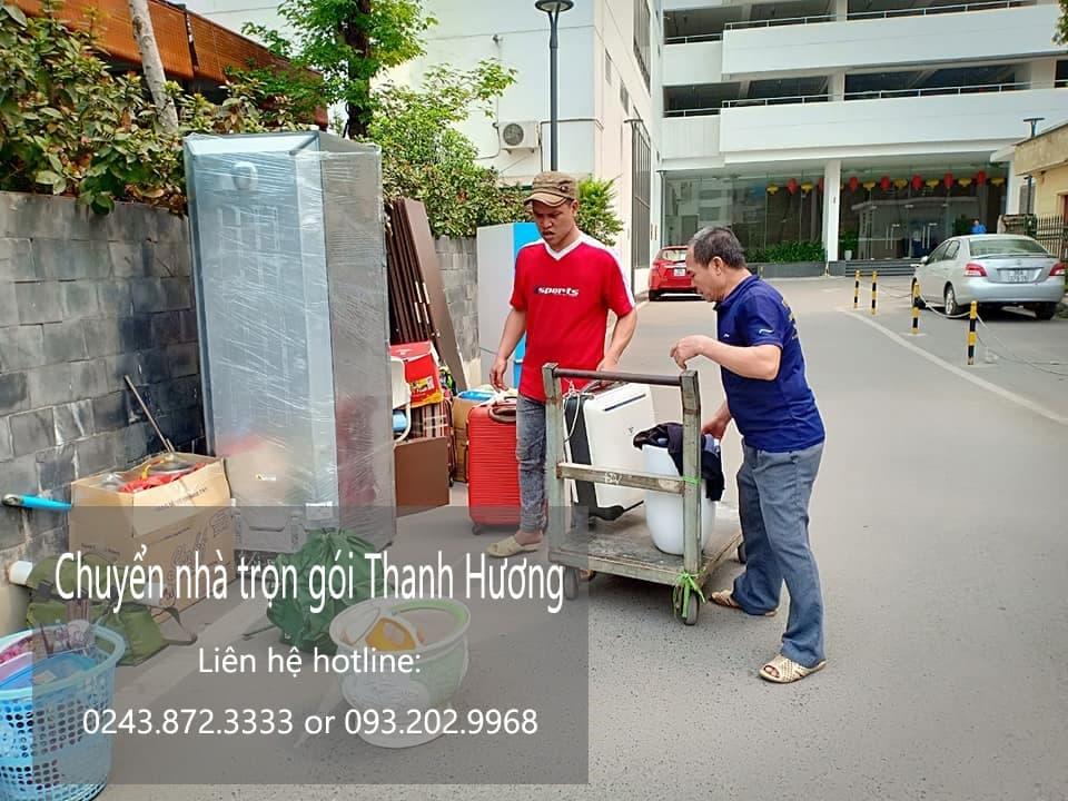 Dịch vụ chuyển nhà trọn gói 365 tại phố Nhân Hòa