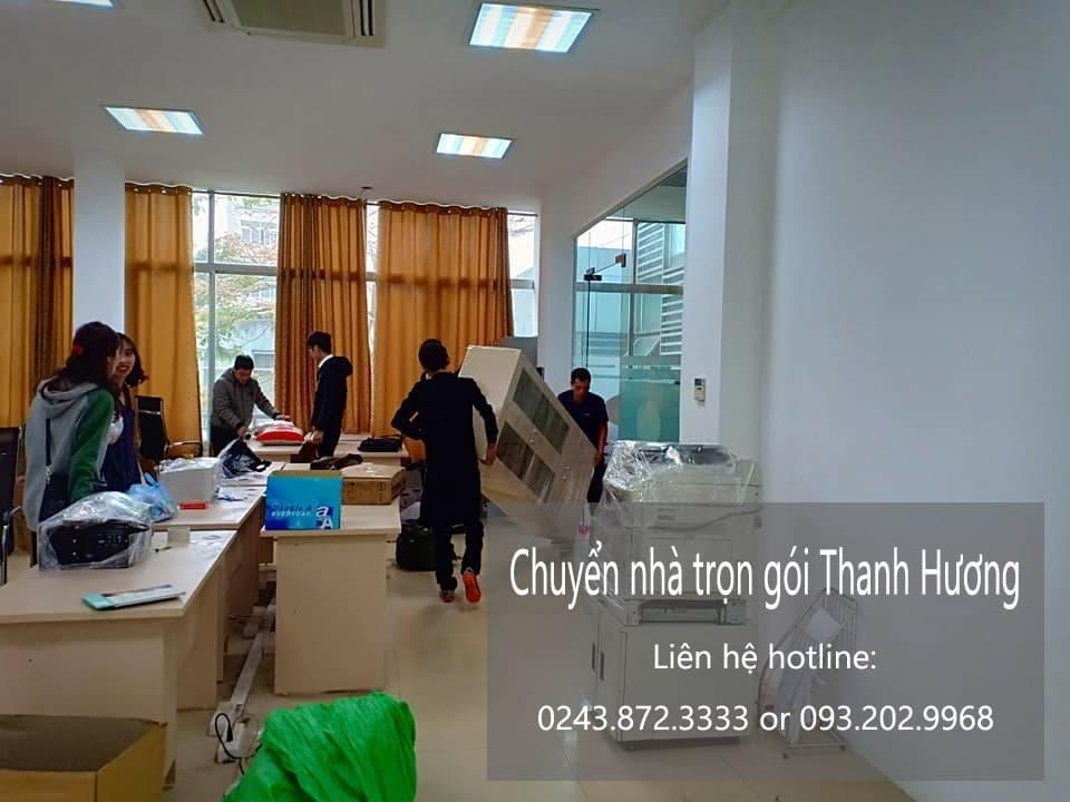 Dịch vụ chuyển nhà trọn gói 365 tại phố Thịnh Yên