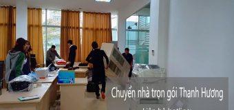 Chuyển văn phòng Thanh Hương tại phố Lương Khánh Thiện