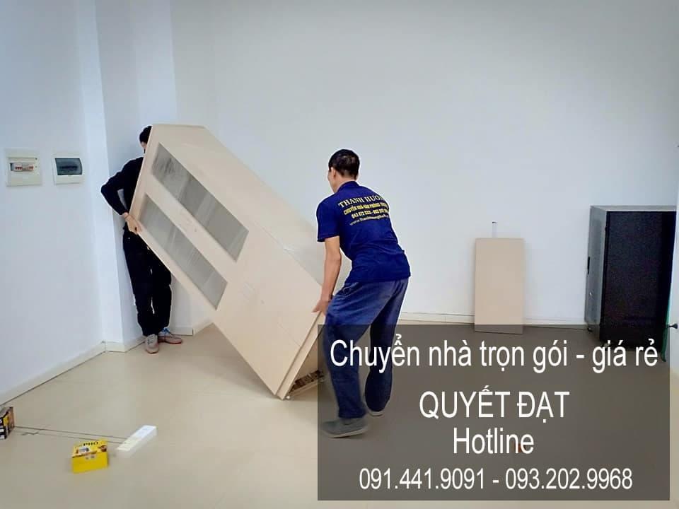 Dịch vụ chuyển nhà trọn gói tại phố Hữu Hưng