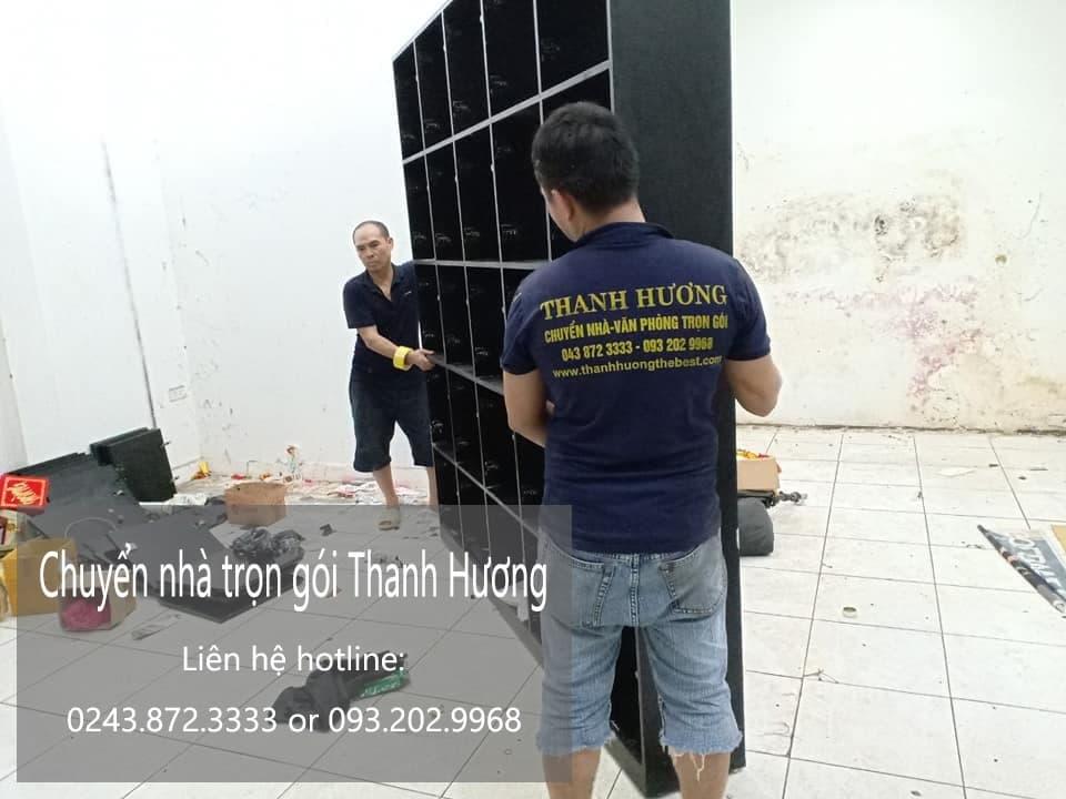 Dịch vụ chuyển nhà trọn gói 365 tại phố Triều Vũ