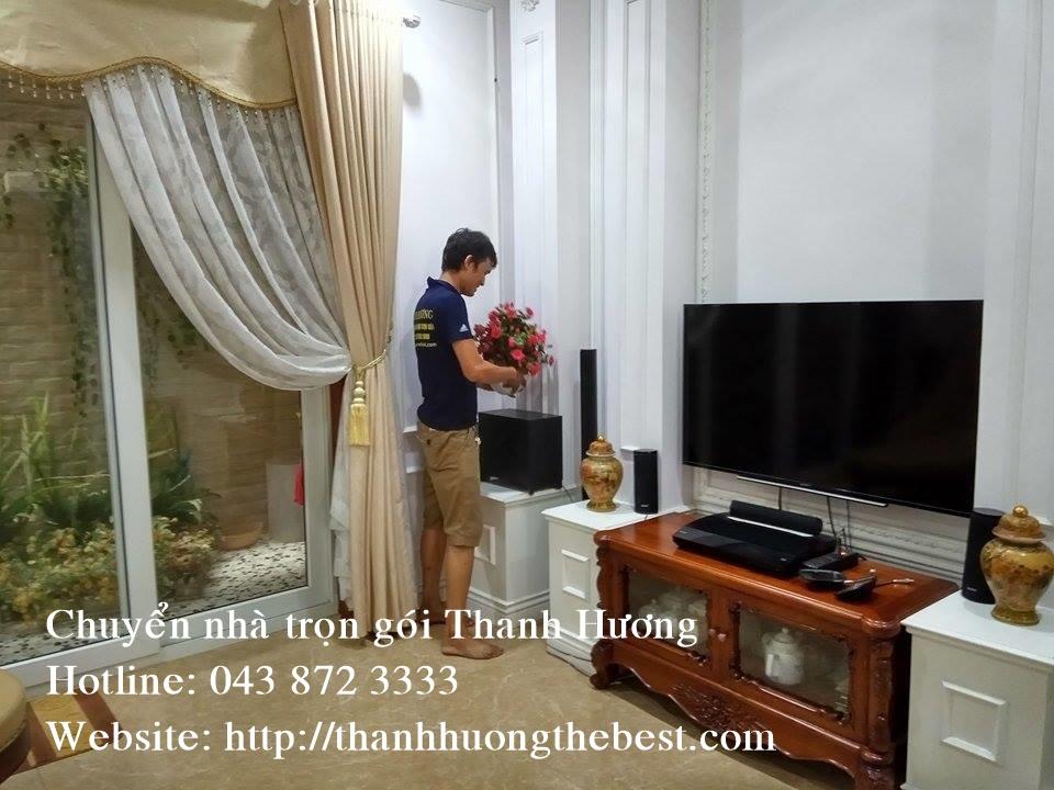 Chuyển nhà chuyên nghiệp tại phố Hoa Bằng