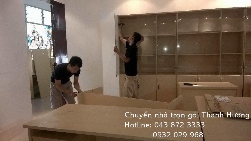 Chuyển văn phòng chuyên nghiệp tại phố Chùa Hà