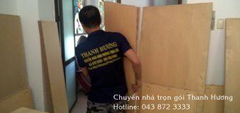 Dịch vụ chuyển nhà thanh hương tại đường Ngô Gia Tự