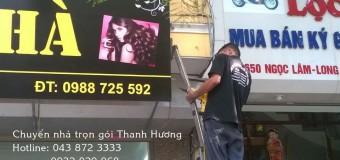Dịch vụ chuyển nhà trọn gói tại phố Nguyên Hồng