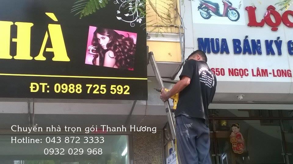 Chuyển văn phòng chuyên nghiệp tại phố Nguyễn Khánh Toàn